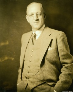 Dr. Clarence Korstian, first director of the Duke Forest. (circa 1937)