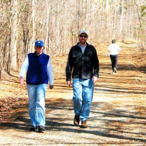 Running and Hiking