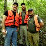 3 Forestry interns