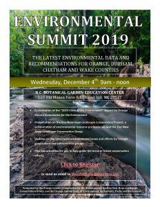 Environmental Summit Flyer