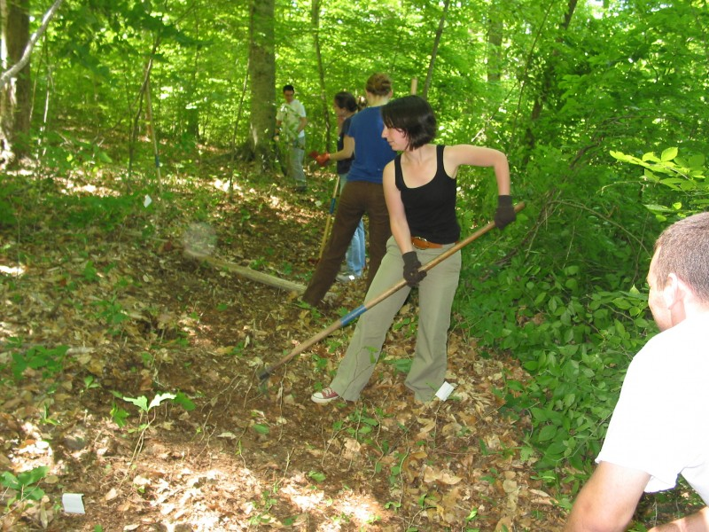 Trail Relocation along New Hope Creek 003