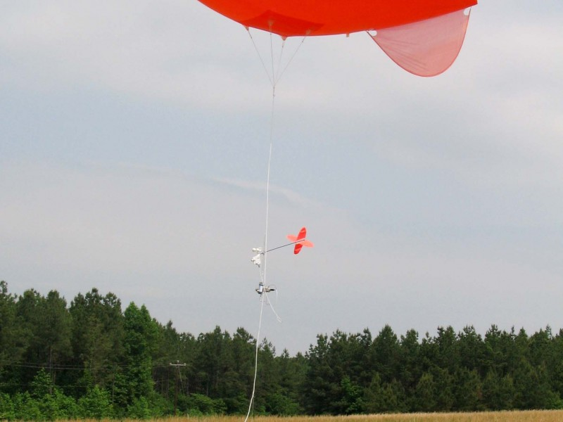 balloon test blk field winching in 1